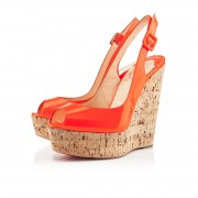Replica Christian Louboutin Une plume 140mm Wedges Flame Cheap Fake Shoes