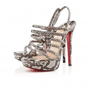 Replica Christian Louboutin Vildo 140mm Sandals Roccia Cheap Fake Shoes