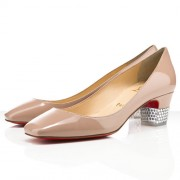 Replica Christian Louboutin Gloria 40mm Pumps Nude Cheap Fake Shoes