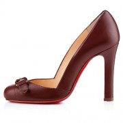 Replica Christian Louboutin Lilibelt 100mm Pumps Havane Cheap Fake Shoes