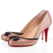 Replica Christian Louboutin Lavalliere 100mm Pumps Nude Cheap Fake Shoes