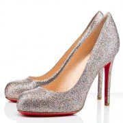 Replica Christian Louboutin Simple 100mm Pumps Multicolor Cheap Fake Shoes
