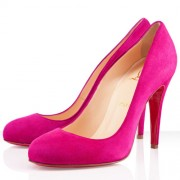 Replica Christian Louboutin Ron Ron 100mm Pumps Rose Matador Cheap Fake Shoes