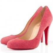 Replica Christian Louboutin Ron Ron 100mm Pumps Rose Paris Cheap Fake Shoes