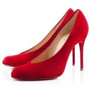Replica Christian Louboutin Yousra 120mm Pumps Red Cheap Fake Shoes