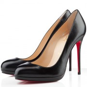 Replica Christian Louboutin Filo 120mm Pumps Black Cheap Fake Shoes