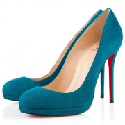 Replica Christian Louboutin Filo 120mm Pumps Peacock Cheap Fake Shoes