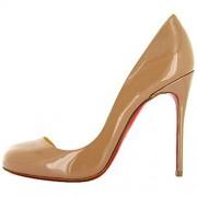 Replica Christian Louboutin Helmour 100mm Pumps Caramel Cheap Fake Shoes