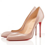 Replica Christian Louboutin Corneille 100mm Pumps Nude Cheap Fake Shoes