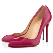 Replica Christian Louboutin Corneille 100mm Pumps Rose Matador Cheap Fake Shoes