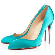 Replica Christian Louboutin Corneille 100mm Pumps Caraibes Cheap Fake Shoes