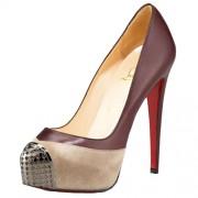 Replica Christian Louboutin Maggie 140mm Pumps Sepia Cheap Fake Shoes