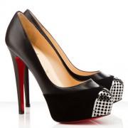 Replica Christian Louboutin Maggie 140mm Pumps Black Cheap Fake Shoes