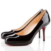 Replica Christian Louboutin Prorata 80mm Pumps Black Cheap Fake Shoes