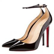 Replica Christian Louboutin Halte 120mm Pumps Black Cheap Fake Shoes