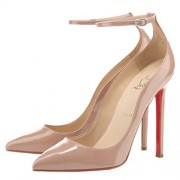 Replica Christian Louboutin Halte 120mm Pumps Nude Cheap Fake Shoes
