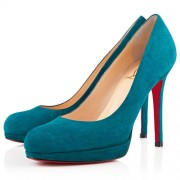 Replica Christian Louboutin New Simple 120mm Pumps Peacock Cheap Fake Shoes