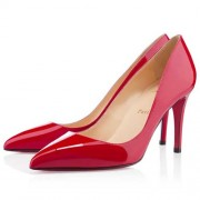 Replica Christian Louboutin Pigalle 80mm Pumps Red Cheap Fake Shoes