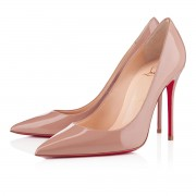 Replica Christian Louboutin Decollete 554 100mm Pumps Nude Cheap Fake Shoes
