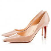 Replica Christian Louboutin New Decoltissimo 80mm Pumps Nude Cheap Fake Shoes