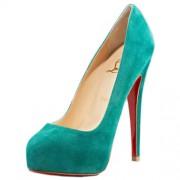Replica Christian Louboutin Miss Clichy 140mm Pumps Caraibes Cheap Fake Shoes