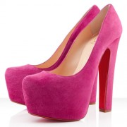 Replica Christian Louboutin Daffy 160mm Pumps Pink Cheap Fake Shoes