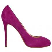 Replica Christian Louboutin New Declic 120mm Pumps Hot Pink Cheap Fake Shoes