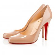 Replica Christian Louboutin Decollete 868 100mm Pumps Nude Cheap Fake Shoes