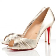 Replica Christian Louboutin Matrinana 100mm Special Occasion Sahara Cheap Fake Shoes