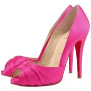 Replica Christian Louboutin Matrinana 100mm Special Occasion Rose Matador Cheap Fake Shoes