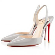 Replica Christian Louboutin Ever 100mm Special Occasion Beige Cheap Fake Shoes