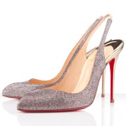 Replica Christian Louboutin Corneille 100mm Special Occasion Multicolor Cheap Fake Shoes