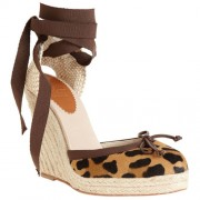 Replica Christian Louboutin Carino Plato 120mm Wedges Leopard Cheap Fake Shoes
