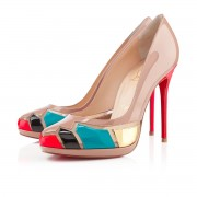 Replica Christian Louboutin Astrogirl 120mm Pumps Nude Cheap Fake Shoes