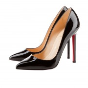 Replica Christian Louboutin Pigalle 120mm Pumps Black Cheap Fake Shoes