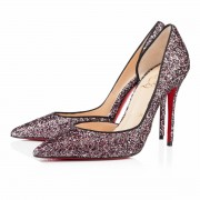 Replica Christian Louboutin Iriza 100mm Special Occasion Rose Antique Cheap Fake Shoes