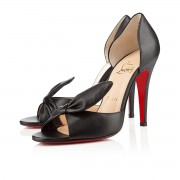 Replica Christian Louboutin Livre 100mm Pumps Black Cheap Fake Shoes