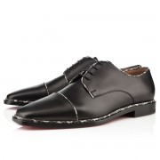 Replica Christian Louboutin Bruno Orlato Loafers Black Cheap Fake Shoes