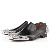 Replica Christian Louboutin Ironito Loafers Black Cheap Fake Shoes