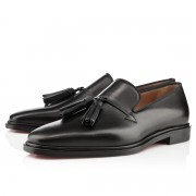 Replica Christian Louboutin Daddy Orlato Loafers Black Cheap Fake Shoes