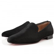 Replica Christian Louboutin Henri Loafers Black Cheap Fake Shoes