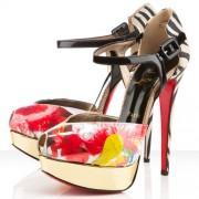 Replica Christian Louboutin No.299 140mm Sandals Multicolor Cheap Fake Shoes