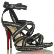 Replica Christian Louboutin Rodita 120mm Sandals Black Cheap Fake Shoes