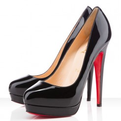 Replica Christian Louboutin Bianca 140mm Platforms Black Cheap Fake Shoes