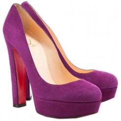 Replica Christian Louboutin Bianca 140mm Platforms Parme Cheap Fake Shoes