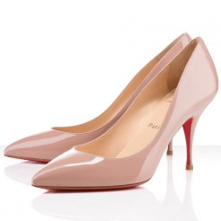 Replica Christian Louboutin Piou Piou 80mm Pumps Nude Cheap Fake Shoes