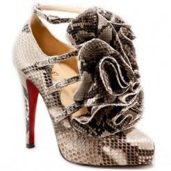 Replica Christian Louboutin Dillian 120mm Mary Jane Pumps Roccia Cheap Fake Shoes
