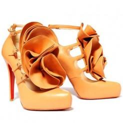 Replica Christian Louboutin Dillian 120mm Mary Jane Pumps Canari Cheap Fake Shoes