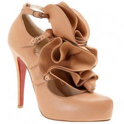 Replica Christian Louboutin Dillian 120mm Mary Jane Pumps Pink Cheap Fake Shoes