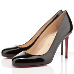 Replica Christian Louboutin Fifi 80mm Pumps Black Cheap Fake Shoes